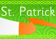 St Patrick's Day Display Poster