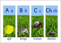 Welsh Alphabet