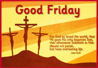 A4 Good Friday Poster