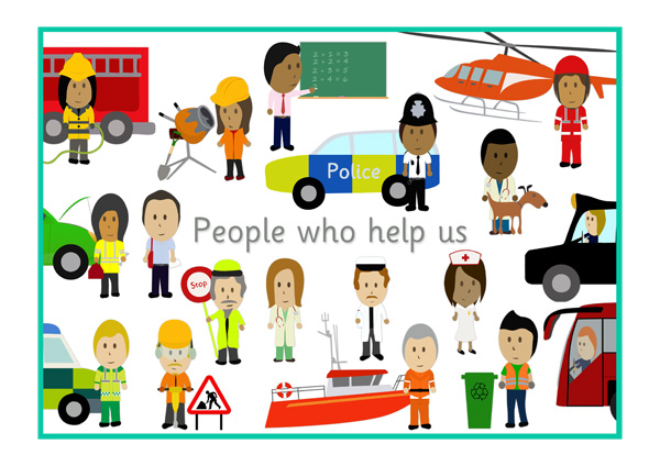 Image result for people who help us early years