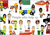 People Who Help Us Poster