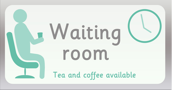 Waiting Room Role Play Sign Free Early Years Amp Primary