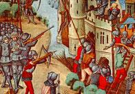 A Siege at a Castle