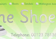 Shoe Shop Role Play Sign