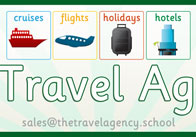 Role Play Travel Agency Poster