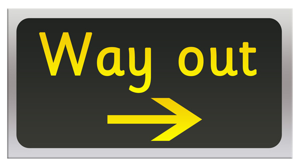 Earlylearninghq org uk role play 2 post office themes way out sign