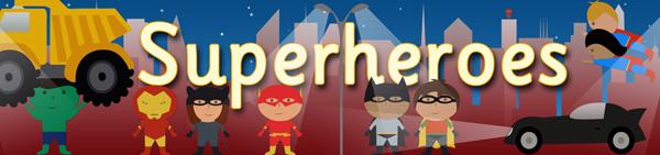 Image result for superheroes banner