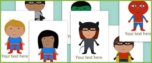 Editable Superheroes Free Early Years Amp Primary Teaching