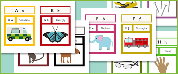 Early Learning Resources Editable Interactive Alphabet ...