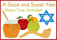 Rosh Hashana / Yom Kippur Editable Poster