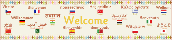 Multilingual Welcome Banner Free Early Years Amp Primary