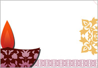 Diwali notepaper thumb Diwali Themed Notepaper