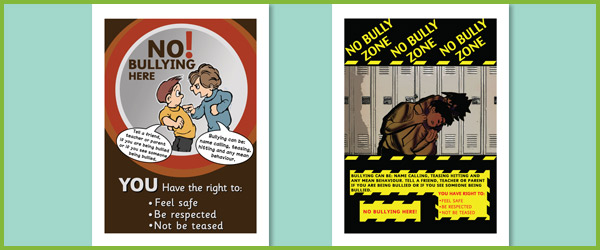 Anti-Bullying Posters | Free EYFS & KS1 Resources