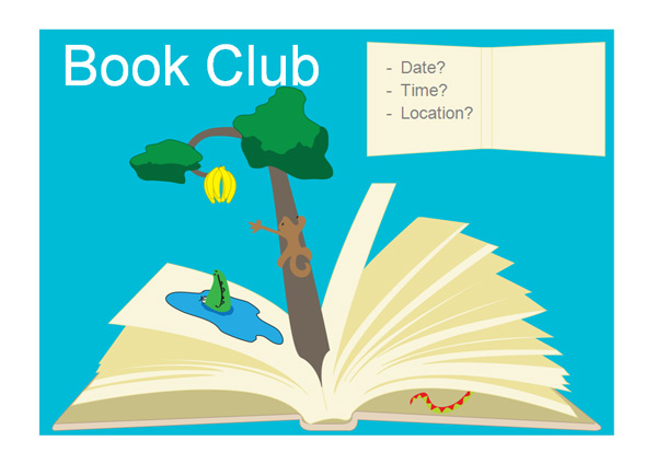Editable book club poster free early years primary teaching about this primary resource stopboris Choice Image