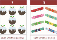Christmas Number Track (editable)