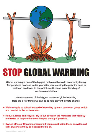 global warming article: