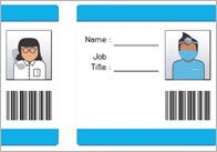 Hospital role play resources eyfs ks1 free early years for Hospital id badge template