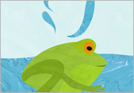 Little Green Frog Song & Lyrics