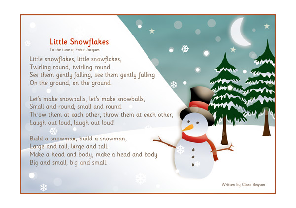 Snowflakes-song-prev1 Teaching Newsletter Template on teaching mission statement, teaching team, teaching youth, teaching portfolio, teaching presentation, teaching brochure, teaching conference,