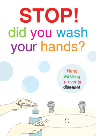 Wash Your Hands Poster Free Early Years Amp Primary