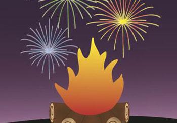 Guy Fawkes / Bonfire Night Poster