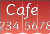 Cafe Role-Play Sign