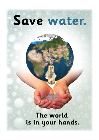 Save Water Poster | Free Early Years & Primary Teaching Resources ...