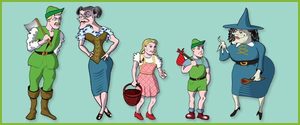 Hansel & Gretel Puppets