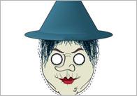 Hansel & Gretel Role Play Masks