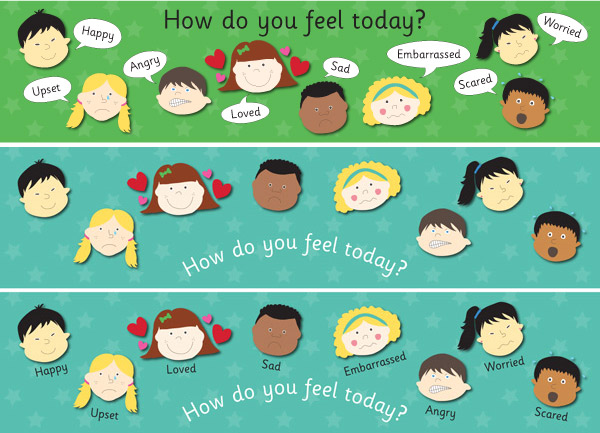 How do you feel today?' Posters | Free EYFS & KS1 Resources