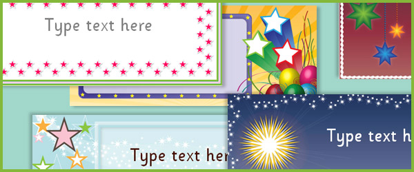 editable star labels free early years amp primary teaching
