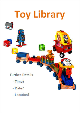 Editable Toy Library Poster Free Early Years Amp Primary