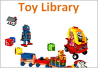 Editable Toy Library Poster