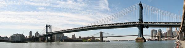 Manhattan Bridge Panoramic