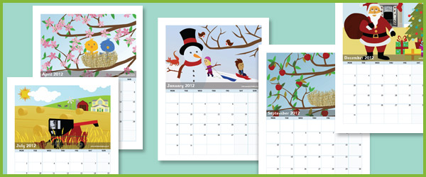 Christmas Calendar Ideas Early Years : Early years calendar free primary