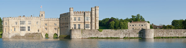 Leeds Castle Panoramic