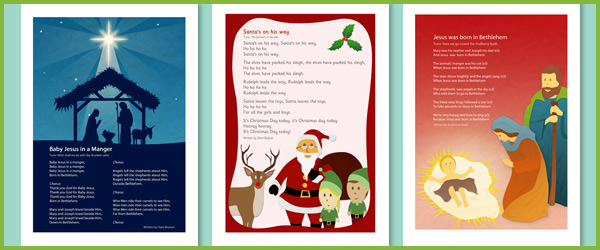 Christmas Nativity Songs Free Early Years Amp Primary
