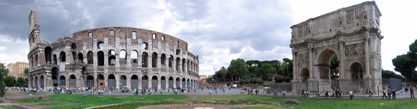 Colosseum Panoramic Photo