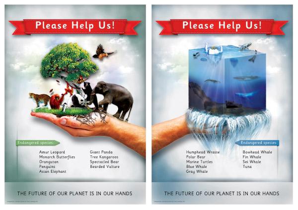 Endangered species posters