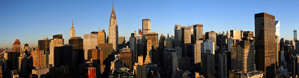 New York Skyline Panoramic