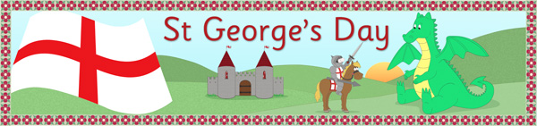 St George's Day Banner