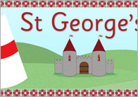 St George's Day Display Poster