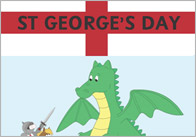 Editable St George's Day Poster