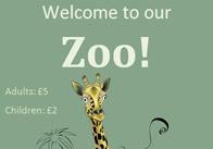 Editable Zoo Poster