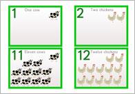 Animal Numberline