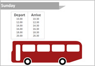 Role Play Bus Timetable