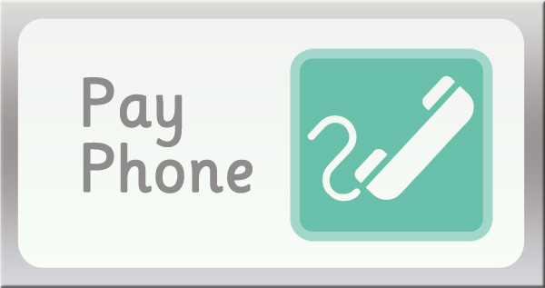 Pay Phone Sign