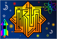 Star Shaped Maze Puzzle