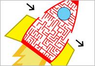 Spaceship Maze Puzzle
