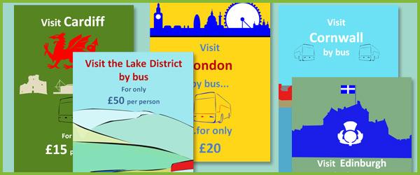 Bus Travel Adverts